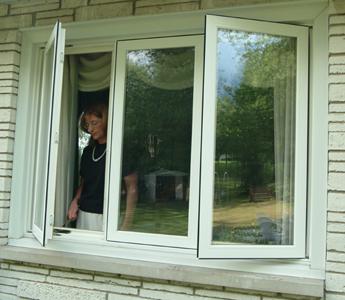Seaway window casement awning for Anderson casement windows
